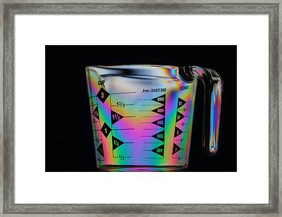 Measure Of Color Framed Print by Donald Tusa