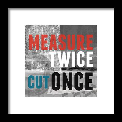 Measure Framed Prints