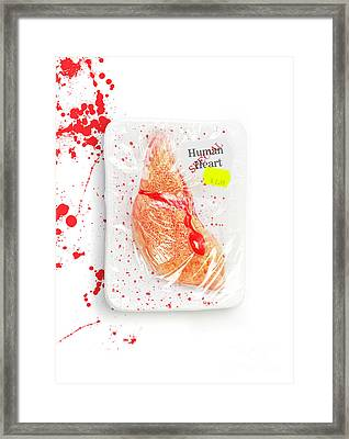 Meat Market Of Lonely Hearts Framed Print by Jorgo Photography - Wall Art Gallery
