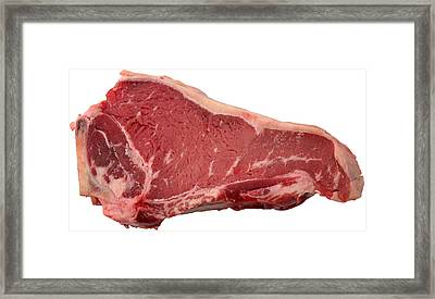 Meat Framed Print