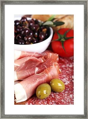 Meat Platter  Framed Print