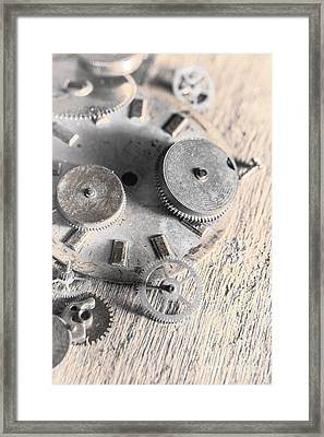 Mechanical Art Framed Print