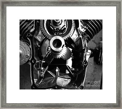 Mechanical Energy Framed Print by Michael Gailey