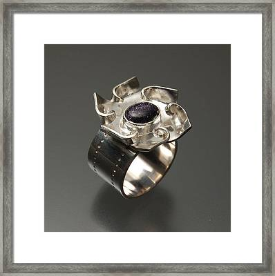 Mechanical  Ring  Framed Print by Ciera Duran