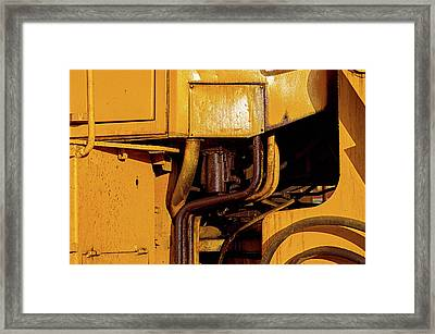 Mechanical Sweat Framed Print