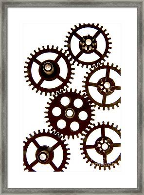 Mechanism Framed Print