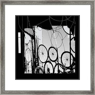 Mechanistic Framed Print by Dale  Witherow