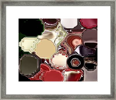 Meddle Framed Print by Patricia  Williams
