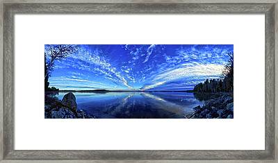 Meddybemps Blues Framed Print by ABeautifulSky Photography
