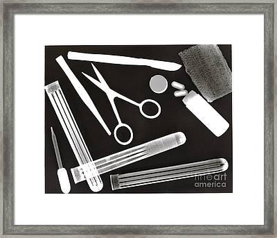Medical Framed Print by Karla Kernz