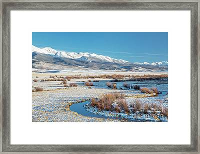 Medicine Bow Mountains Framed Print by Marek Uliasz