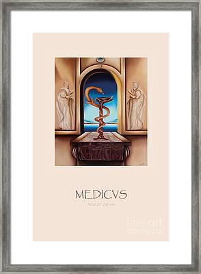 Medicus Framed Print by Johannes Murat