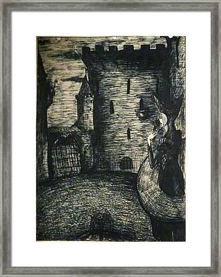 Medieval 2 Framed Print by Rae Chichilnitsky