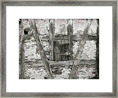 Medieval Architecture Framed Print by Corinne Rhode