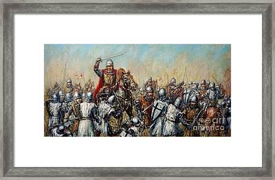 Medieval Battle Framed Print