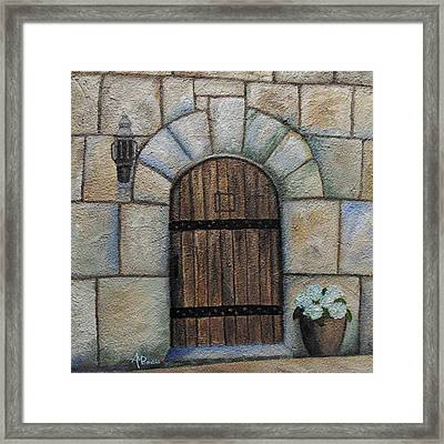 Medieval Door Framed Print