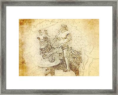 Medieval Europe Framed Print