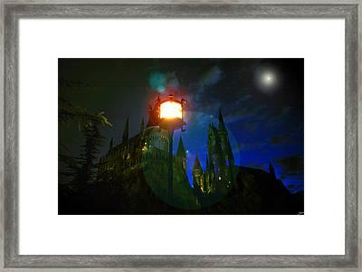 Medieval Night Framed Print by David Lee Thompson