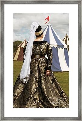 Medieval Woman Framed Print