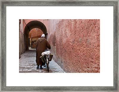 Medina Man Framed Print by Marion Galt