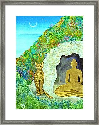 Meditation At Dawn Framed Print by Jennifer Baird