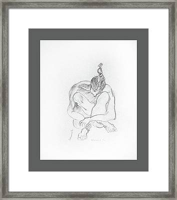 Meditation Framed Print by Clarissa Talve