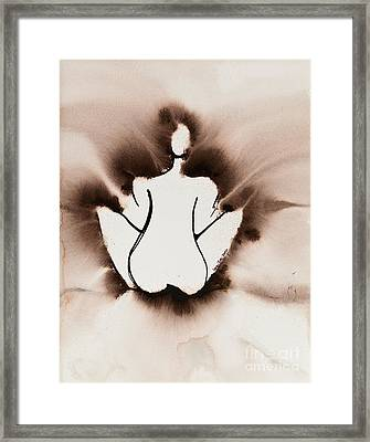 Meditation Framed Print by Ilisa Millermoon