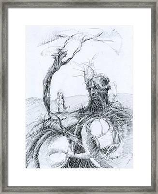 Meditation Framed Print by Mark Johnson