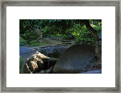 Meditation Path Framed Print