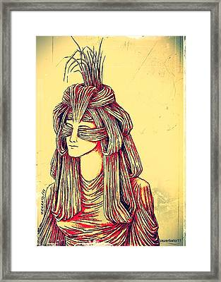 Meditation Framed Print by Paulo Zerbato