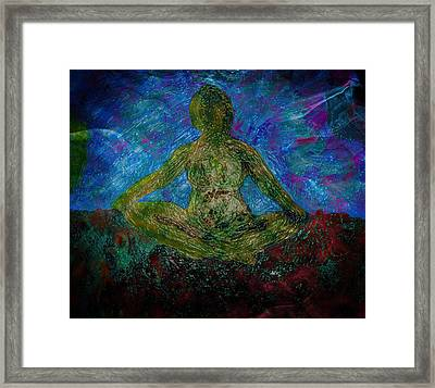 Meditation Practice Framed Print by Dorothy Berry-Lound