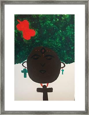Meditation Queen  Framed Print