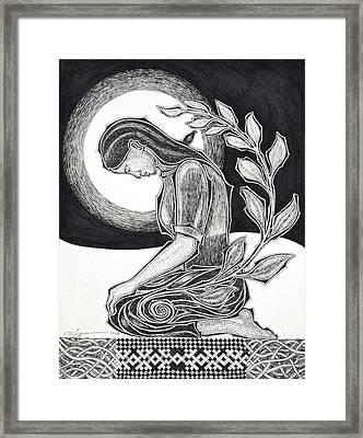 Meditation Framed Print by Raul Agner