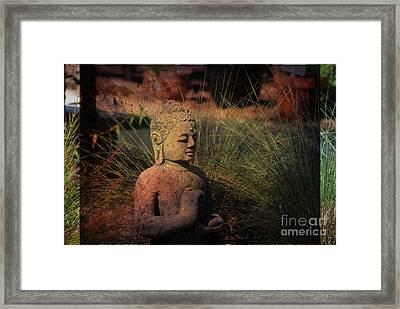 Meditation Framed Print by Susanne Van Hulst