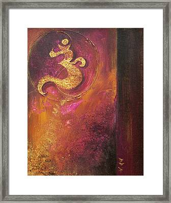 Framed Print featuring the painting Meditations by Dina Dargo