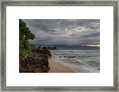 Meditative Moment Framed Print by Bill Roberts