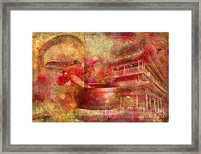 Meditative Montage 2015 Framed Print