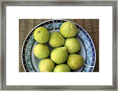 Mediterranean Figs Framed Print by Steve Outram