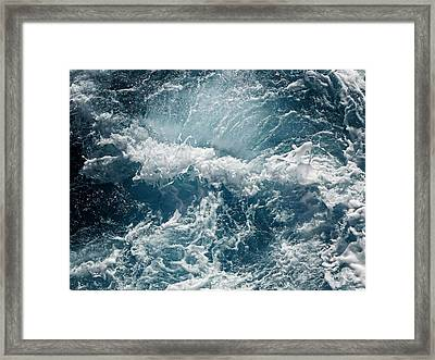 Mediterranean Sea Art 53 Framed Print