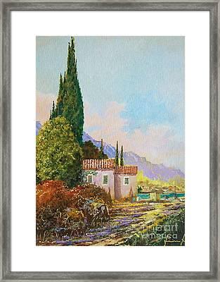 Mediterraneo 2 Framed Print