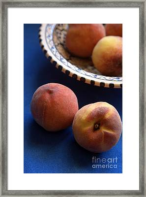 Mediterrannean Peaches Framed Print by Steve Outram
