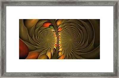 Meditirina Seed Pod Framed Print