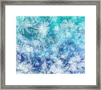 Turquoise Medley Framed Print