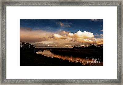 Medocscape_01 Framed Print