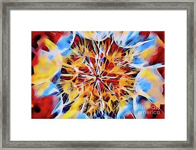Medow Dandelion Framed Print