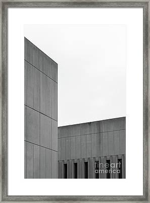 Medsci Building Framed Print