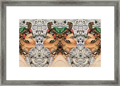 Medusa 4 Framed Print