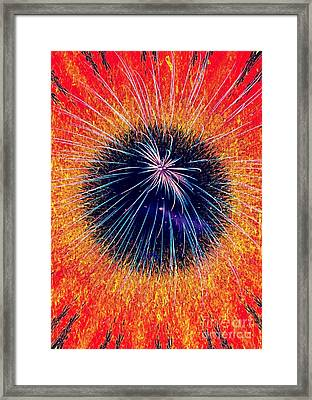 Medusa Abstract Framed Print by ARTography by Pamela Smale Williams