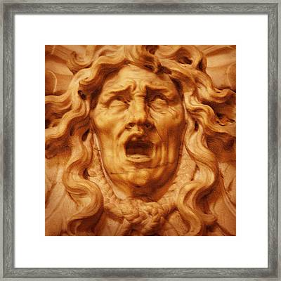 Medusa Gorgona Framed Print by Rodika George