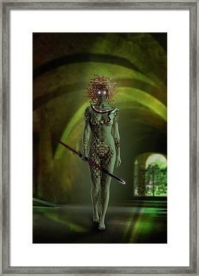 Medusa Framed Print by Scott Meyer